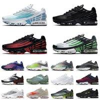 Schuhe 2021 New Nike Air Max Tn 3 Plus 2 Airmax Tns Mann-Frauen-Laufschuhe Triple Black Alles Weiß plus Tn Karminrot Luftmaxairmax Trainer Turnschuhe