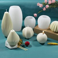 Craft Tools Ball Candle Mold Sphere Silicone Diy Scented Making Kit Handmade Soap Plaster Ice Cube