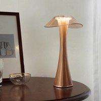 Night Lights Portable LED Table Lamp Bar El Desktop Usb Charging Bedside Gift Nightstand Restaurant Outdoor Light