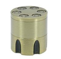Szlifierki Kruszarki Narzędzia do szlifierki Akcesoria do palenia Krajalni 3 Warstwy Średnica 30mm Stopu cynku Bullet Rozwiązywanie Brązu Suchy Młynek Tobacki Kruszarki