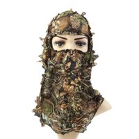 Cappello da sciarpa maschera con cappuccio cappello tattico Forze speciali Forze speciali Berretti dell'esercito Camouflage Caccia all'aperto Pesca da pesca in camo
