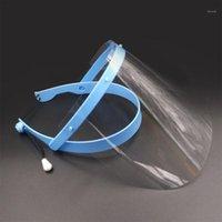 Anti-Kaynak Kask Yüz Kalkan Lehim Maskesi Şeffaf Lens Göz Koruyun Anti-UV Güvenlik Maskesi1