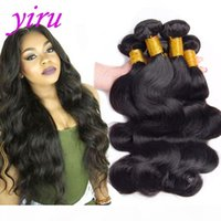 Indian Raw Virgin Human Hair 4 Bundles Body Wave Hair Extensions Cambodia Weaves 95-100g piece 8-30inch Natural Color