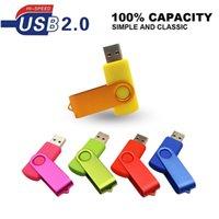 Custom Logo Metal USB 2.0 flash drive 64GB 32GB 16GB 8GB 4GB Pen Drive USB Flash pendrive u disk cle usb memoria stick for Gift