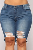 Pantalone in denim in buco largo jeans