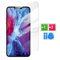 2.5D Case Friendly Screen Protector Protective Film Tempered Glass for iPhone 12 11 Pro Max X Xs 8 7 Samsung Galaxy S21 Plus S20 FE A32 A52 A72 5G
