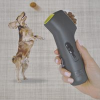 Creative Pet Food Feeder Dog Snack Launcher Foods Catapult Manufacturers Spot Wholesale Color Box Package