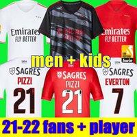 21 22 Liverpool DIOGO J. THIAGO M. SALAH camiseta de fútbol 2021 2022 camisetas de fútbol VIRGIL MANE KEITA MILNER Hombres Conjuntos para niños kits para niños calcetines
