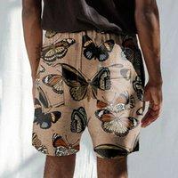 Pantalones cortos de tubo casual del tethered del verano Pantalones de playa para hombres impresos digitales SY0082