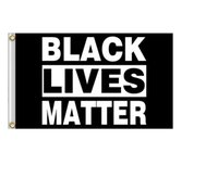 Black Lives Matter Flag Banner Supplies For Outdoor BLM Peace Protest Outdoor Banner Bracelet GWF10075