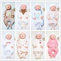 Designer children's clothing SAILEROAD Cartoon Cute Animals Print Baby Onesies born Footed pajamas roupa de bebes Infant Cotton Jumpsuit Gir