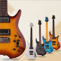 Kaliteli Sessiz Elektro Gitar Gerçekleştirilmiş Gerçekleştirilmiş Taşınabilir Seyahat Ücretsiz