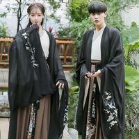 HANFU ADULTOS NACIONAL ETAPA MUESTRA DE RESPEZACIÓN Ropa Mujer Hombres Qing Dinastio Estilo Chino Festival Tradicional DN35061