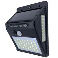 222 100 LED Solar Light Outdoor Solars Lamp with Motion Sensor Solar-Powered Sunlight Spotlights for Garden Decoration