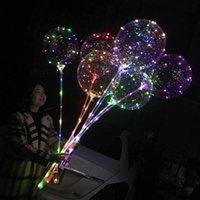 LED BOBO BALLOOT с 3М струнными огнями для рождественских вечеринок дома украшения удивительные украшения