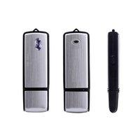 16G Voice Activated Mini Recording USB Flash Drive Sound Recording Recorder Pen 2 in one USB