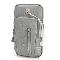 Outdoor-Taschen Sport Mobile Fitness Handgelenk Leuchtende Laufarm Pack Telefon Wasserdichte Tasche mit Kopfhörerbuchse
