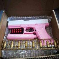 Kinderspielzeug Weiche Kugelschale Werfen M1911 Gun Glock Glock Pistole Modell Little Boy Simulation kann geladen und abgefeuert werden
