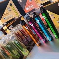 Bang XXL 전자 담배 2000 퍼프 일회용 vape 포드 디바이스 키트 800mAh 전원 배터리 미리 채워진 6ml 키트 펜 대 퍼프 플러스 흐름 공기 막대 최대 XL GunnPod Hyppe Elf Geek Flex