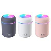 Przenośny nawilżacz powietrza 300 ml aromatu ultradźwiękowego dyfuzor oleju eterycznego USB Cool Mist Maker Purifier Aromaterapia Inteligentna zdrowie dla samochodu do domu