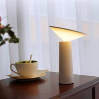 Table Lamps LED Desk Lamp European Style Night Light Charge Decorative Touch Switch Learning Eye Protection Home Bedroom Supplies