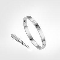 Liebe Schraube Armband 5.0 Designer Classic Herren Gold Armband 2021 Luxus Schmuck Frauen Titanstahl vergoldet Niemals nicht allergisch