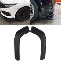 wtyd for 2 PCS Universal Fit Car Front Bumper Spoiler Lip Splitter Diffuser SUV ABS Front Shovel Length 62cm
