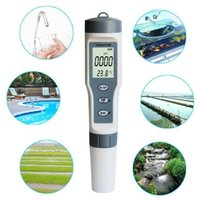 Pool & Accessories 3 In 1 Water Quality Test Pen High Precision TDS PH TEMP 0-14 PH Measurement Range For Swimming Home Detection