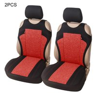 Car Seat Covers 2 Pcs Universal Auto Front Headrest Cover Set Protector For Fits All Standard Seats Automotive Interior