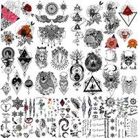 Морсхин 32 листы водонепроницаемые временные татуировки наклейки уникальных образов или тотем для мужчин женщин девушка выражение тела искусства