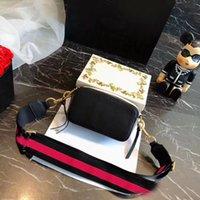 Tasarımcı Kadın Omuz Çantaları Lady Ünlü Çanta Klasik Mini Anlık Görüntü Kamera Çantası Küçük Crossbody Çanta Çantalar Kutusu Ile İki Omuz Askıları