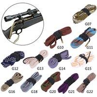 사냥 총 깨끗한 보어 뱀 20GA .35 CAL 410GA 6mm 16GA .50 칼 라이플 권총 배럴 스네이크 로프 클리너 총 청소 도구.