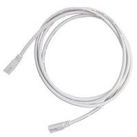 6FT US Plug Power Shors с выключателем для T5 T8 двойной конец 3Pin LED трубки, удлинитель для интегрированной светодиодной лампочки люминесцентной трубки, белый цвет в наличии