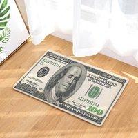 Ковры деньги канадские доллар принт прихожу в прихожую доллары коврик монеты крыльцо ковер испанское пенета декор гостиной 40x60 коврики персонализированные