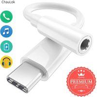 USB Tipi C için 3.5mm Kulaklık Jakı Adaptörü 3.5 AUX USB C AUX AUX Ses Dongle Kablo Kablosu Google Piksel 4 3 2 XL için Si-Res DAC