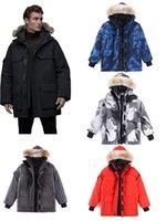 Hommes Hiver Jacket Down Canada Vêtements d'extérieur Downs Vestes Stand Collier Manteau imperméable Mens Sweet Sweat Sweat Sweat Sweatwee