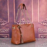Stile più nuovo stile moda donna borse di lusso signora PU borse in pelle borse di marca borse spalla m tote bag femminile # 34724
