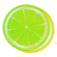 جديد جولة سيليكون الشمع dab حصيرة سيليكون dabbing حصيرة الليمون تصميم غير عصا dabber صفائح داب عشب الشمع النفط bwd6616