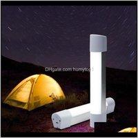 Laternen Outdoor-LED-Zelt USB-Aufladung Handheld Camping Wandern Reparatur Nachtlampe mit Magnet Tragbare Laterne Arbeitslicht S25 W4omu F4LI7