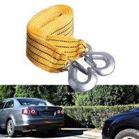 Travel & Roadway Product 3M Heavy Duty 3 Ton Car Tow Cable Towing Pull Rope Strap Hooks Van Road Recovery Strape For Truck Trailer SUV