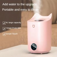 Humidifiers Smart Touch Ultrasonic Humidifier 4L Large Capacity Desktop Diffuser Home USB Silent Aromatherapy Air