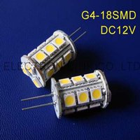 Ampoules Haute Qualité DC12V G4 LED Lumière décorative, lampe de cristal de 12VDC 50pcs / lot