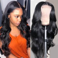 28 30inch Body Wave Hair Wigs 6x6 Lace Closure Human Hair Wig 180 Density Lace Frontal Wig For Women Pre Plucked
