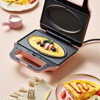 Máquina de café da manhã de Sanduíche de Sanduíche de Controle Inteligente Máquina de Pequeno-almoço Multifuncional Brinde Multifuncional Baking Waffle DBC-P06A1
