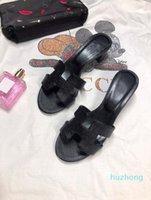 Klasikler Paris Fahsion Kadınlar Terlik Yaz Kızlar Plaj Slaytlar Siyah Beyaz Kırmızı Çevirme Çiçek Brocade Dişli Dipleri Sandalet