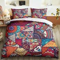 Bohemia Magical Mandala постельное белье для постельного белья кровать 3D печати Пользовательские наволочки мягкая одеяла крышка спальня декор взрослых королевы короля