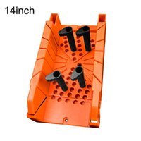 Hand Tools Pipe Cutting Saw 14'' Mitre Box Woodworking Oblique Quality ABS Angle Clip Professional 14inch Engineering Plastic Tool