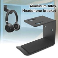 yutong Holder Wall Mount Headset Headphone Hanger Stand Desk Display Bracket Hanging Earphone Hook Rack Accessories