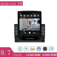 AUDIO AUDIO 9.7 POLLICE Android10 Player multimediale centrale con grande schermo ritratto HD Radio Ricevitore GPS WiFi Bluetooth universale
