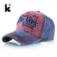 Men's and women's baseball cap with embroidered letters, New York, truker, adjustable, twill denim, snapback, hip hop gorras